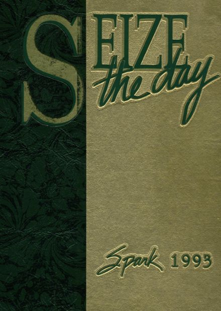 1993 St. Mark's High School Yearbook Cover
