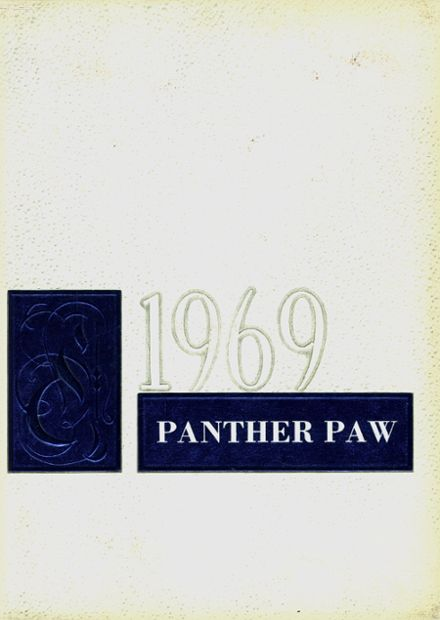 1969 Midway High School Yearbook Cover