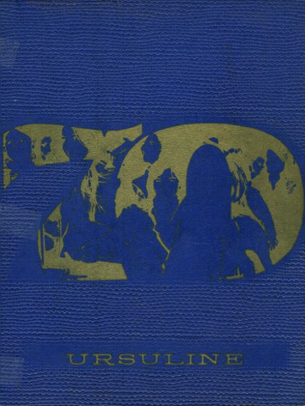 1970 St. John's Ursuline High School Yearbook Cover