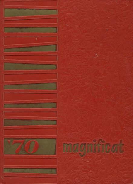 1970 St. Elizabeth's High School Yearbook Cover
