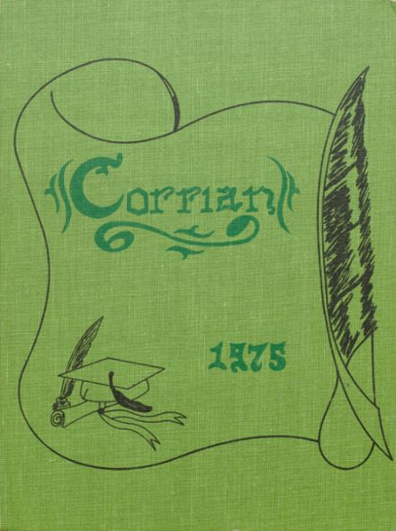 1975 Corry Area High School Yearbook Cover