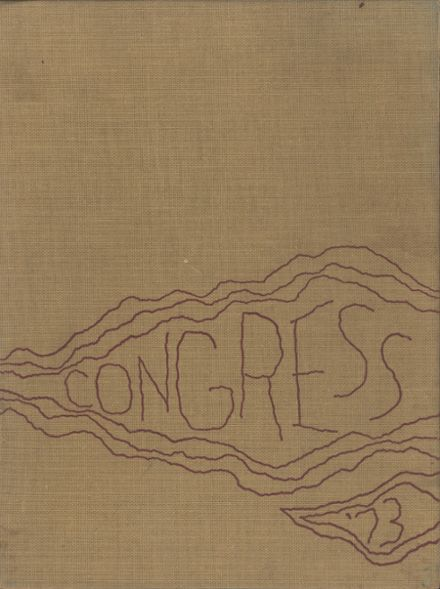 1973 Olean High School Yearbook Cover