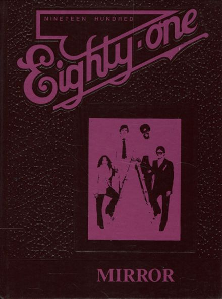 1981 Michigan School for the Deaf Yearbook Cover