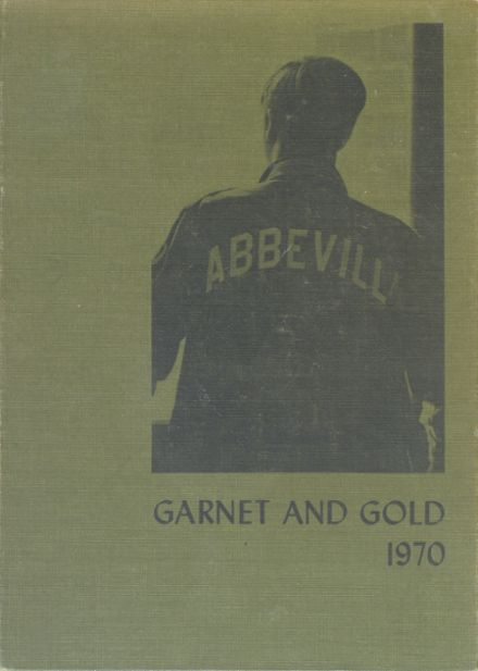 1970 Abbeville High School Yearbook Cover