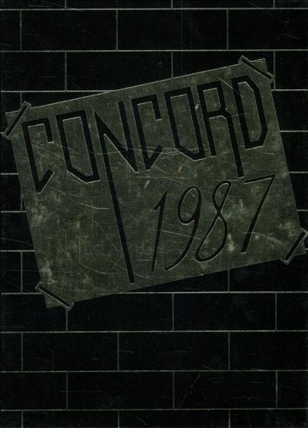 1987 Maranacook High School Yearbook Cover