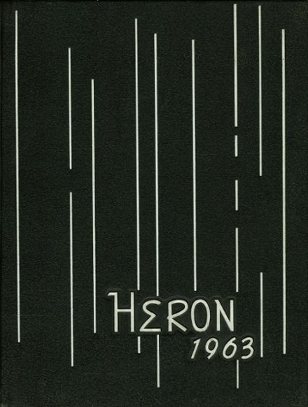 1963 Bishop O'Hern High School Yearbook Cover