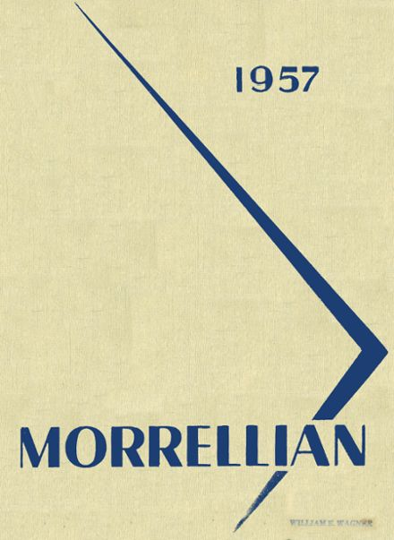 1957 Irvington-Frank H. Morrell High School Yearbook Cover