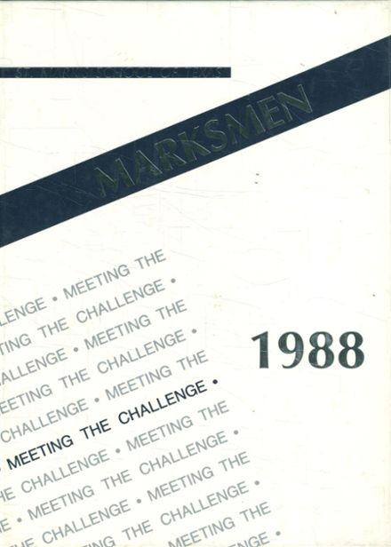 1988 St. Mark's School of Texas Yearbook Cover