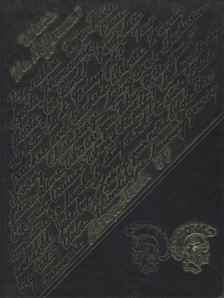 1988 Carrollton High School Yearbook Cover