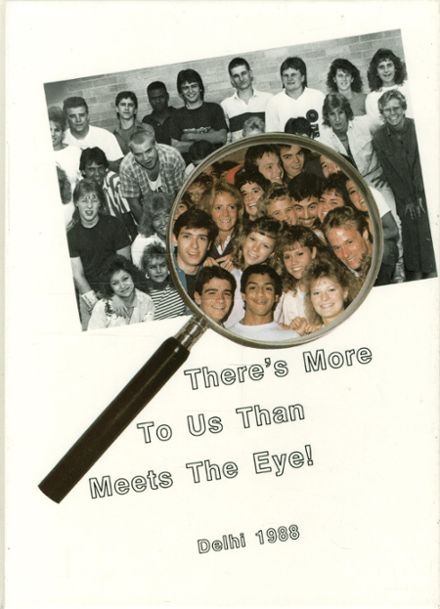 1988 Hayes High School Yearbook Cover