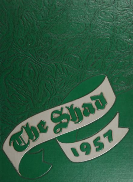 1957 Shattuck - St. Mary's School Yearbook Cover