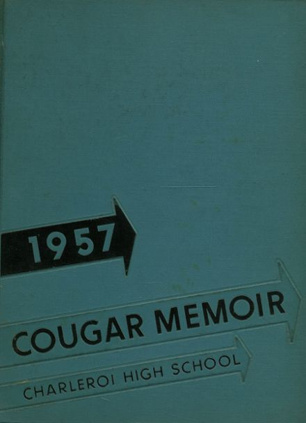 1957 Charleroi High School Yearbook Cover