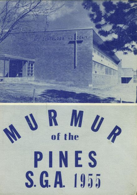 1955 St. Gertrude's Academy Yearbook Cover