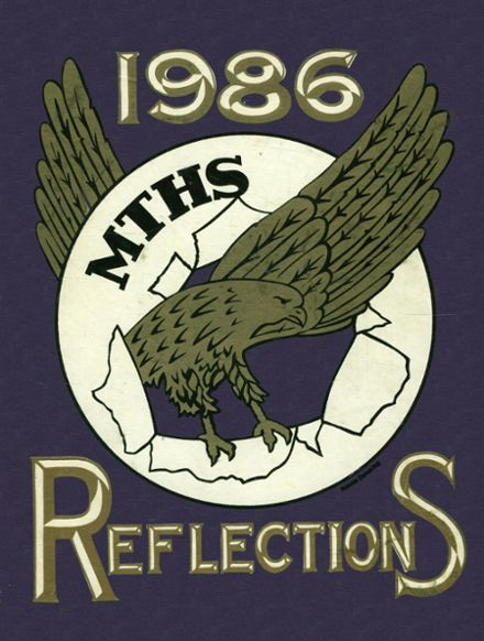 1986 Monroe Township High School Yearbook Cover