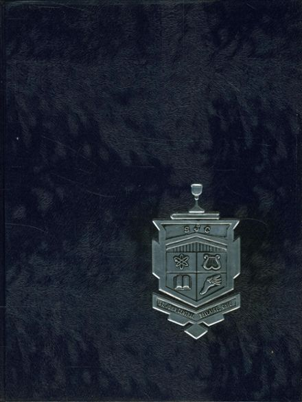 1966 St. John's Central High School Yearbook Cover
