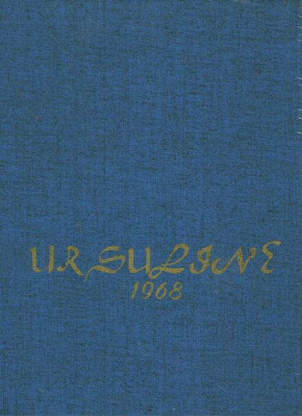 1968 St. John's Ursuline High School Yearbook Cover