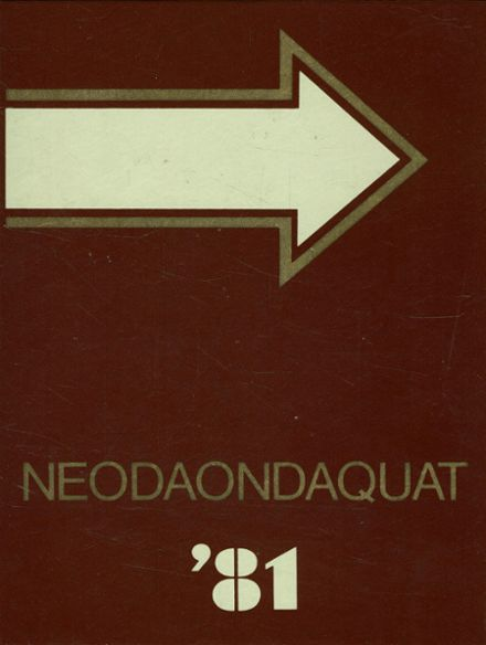 1981 Irondequoit High School Yearbook Cover