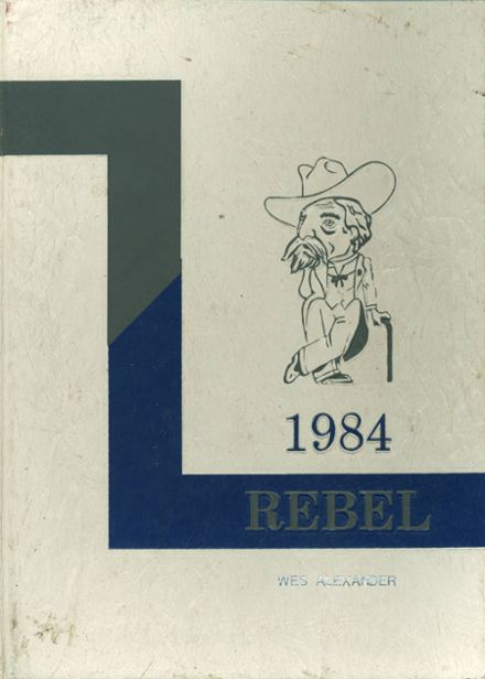 1984 Overton High School Yearbook Cover