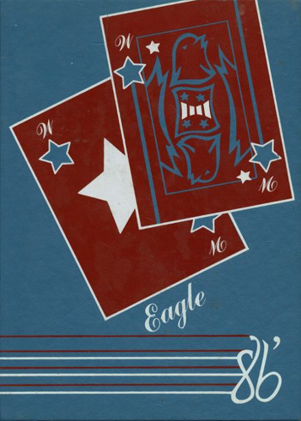 1986 Wayne Central High School Yearbook Cover