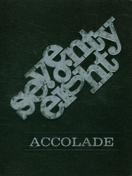 1978 Ponderosa High School Yearbook Cover