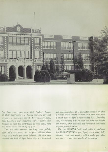 1959 Byrd High School Yearbook Page 7