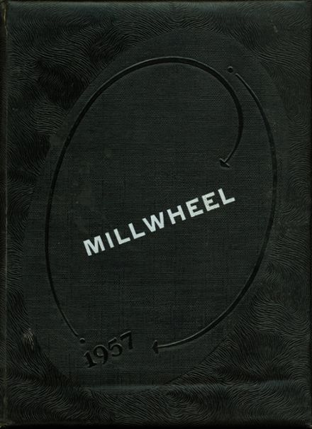 1957 Milltown High School Yearbook Cover