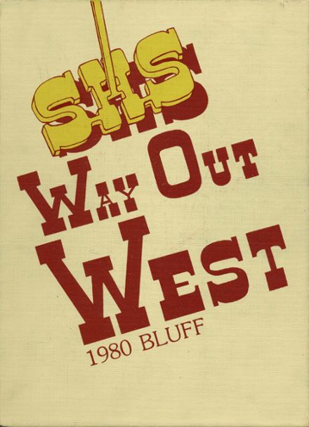 1980 Scottsbluff High School Yearbook Cover