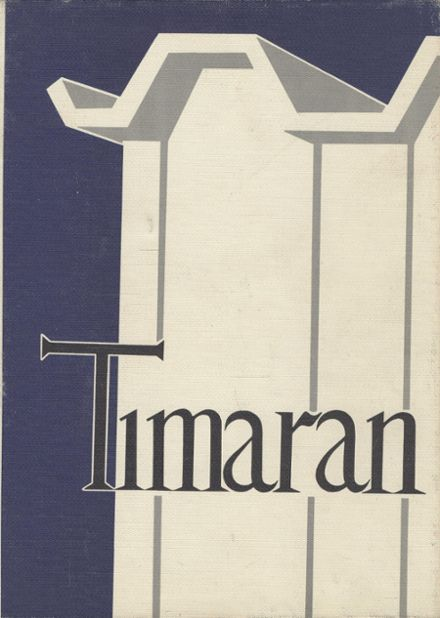 1965 Marina High School Yearbook Cover