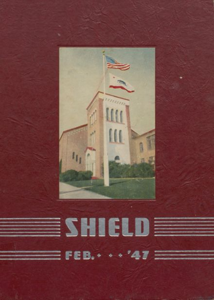 1947 RUHS/Richmond High School Yearbook Cover