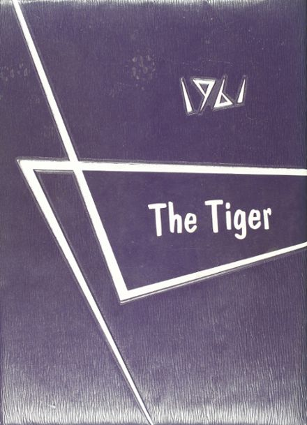 1961 Mt. Vernon High School Yearbook Cover