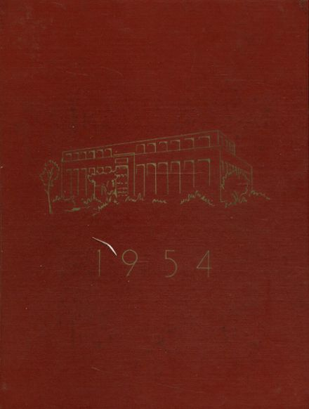 1954 Trott Vocational School Yearbook Cover