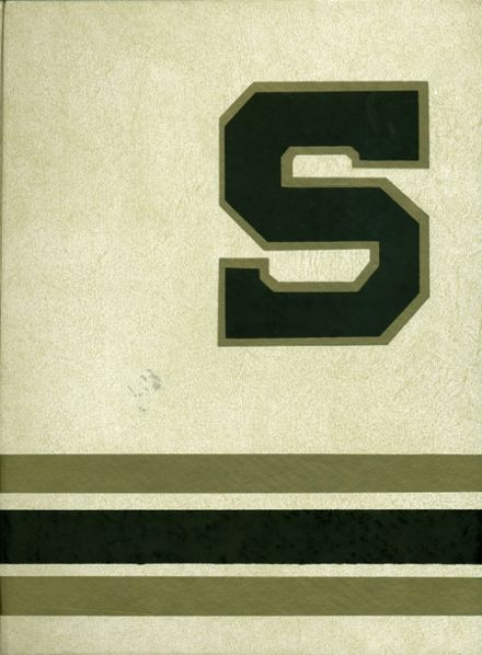 1975 Servite High School Yearbook Cover