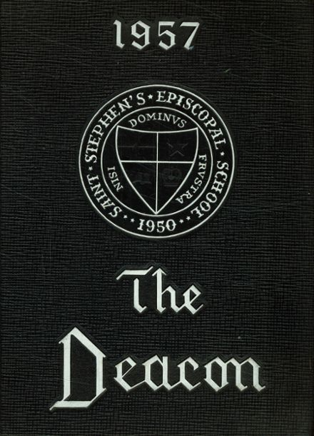 1957 St. Stephen's Episcopal High School Yearbook Cover