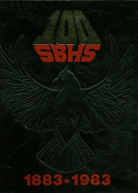 1983 San Bernardino High School Yearbook Cover