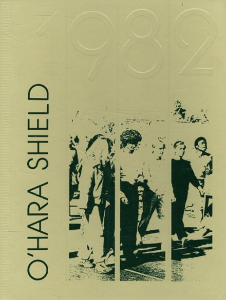 1982 O'Hara High School Yearbook Cover
