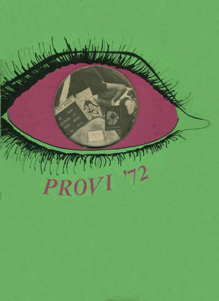 1972 Proviso East High School Yearbook Cover