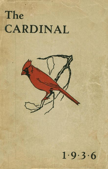 1936 St. Peter's High School Yearbook Cover