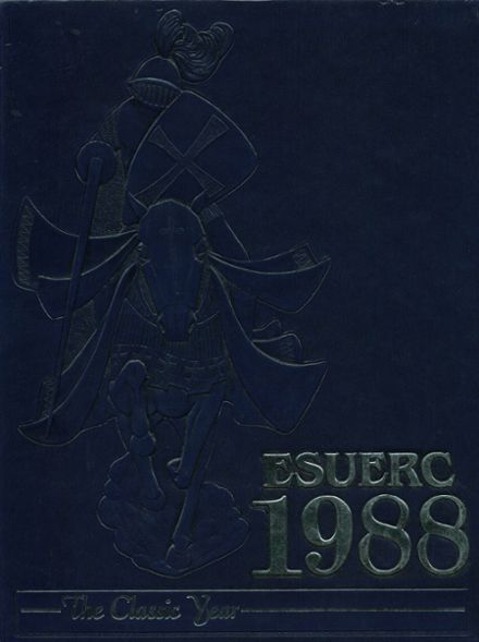 1988 L'Anse Creuse High School Central Yearbook Cover