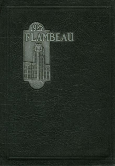 1927 Lincoln High School Yearbook Cover