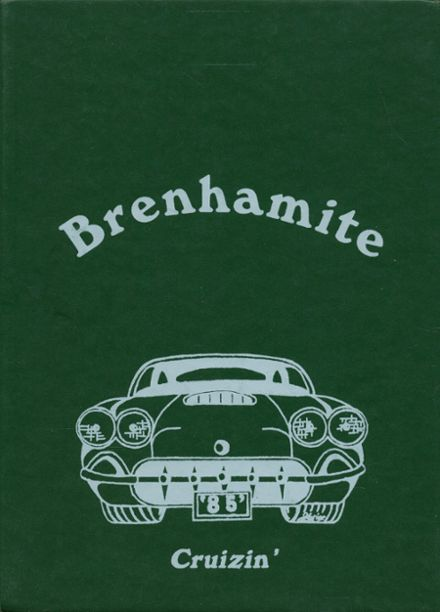 1985 Brenham High School Yearbook Cover