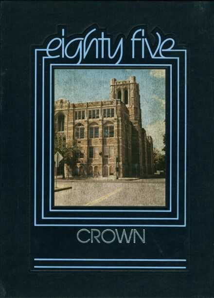 1985 St. Mary's Academy Yearbook Cover