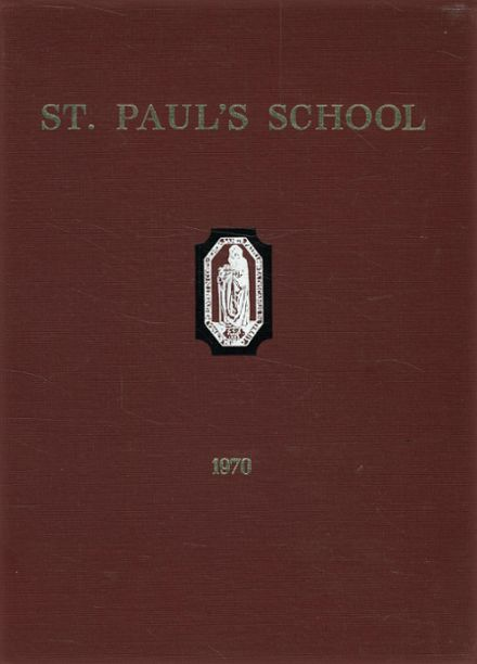 1970 St. Paul's School Yearbook Cover