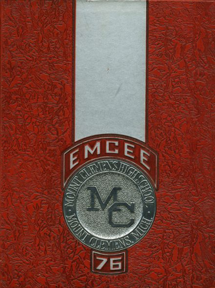 1976 Mt. Clemens High School Yearbook Cover