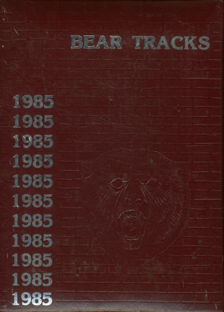 1985 Bastrop High School Yearbook Cover