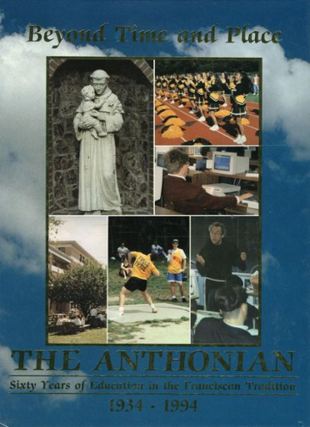 1994 St. Anthony's High School Yearbook Cover