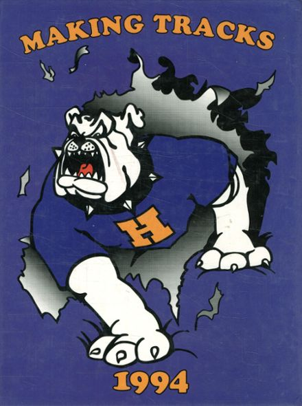 1994 Hermiston High School Yearbook Cover