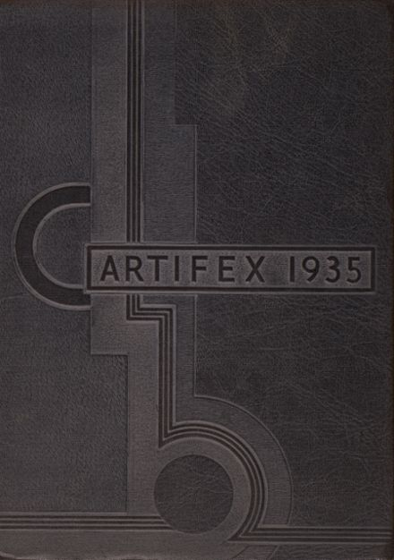 1935 St. Joseph's High School Yearbook Cover