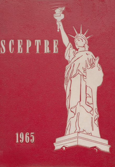 1965 King's High School Yearbook Cover