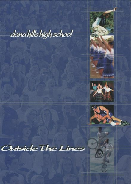 1999 Dana Hills High School Yearbook Cover