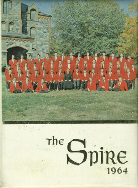 1964 St. John's Preparatory Yearbook Cover